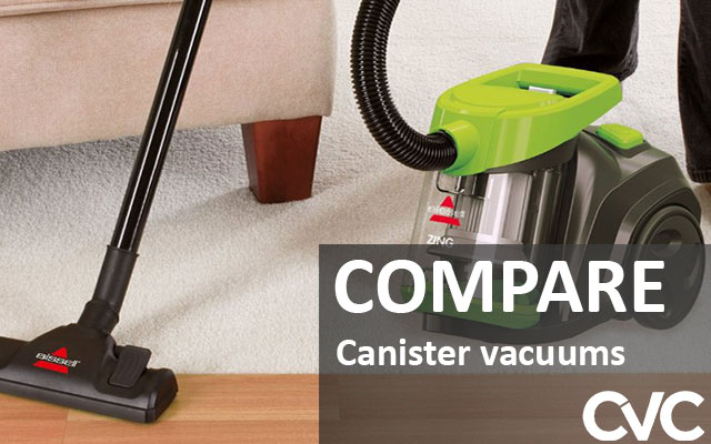 Compare Canister vacuums