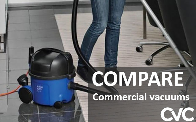 Compare Commercial vacuums